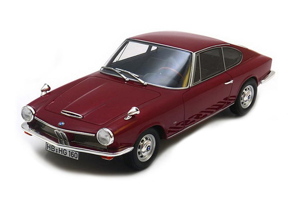 BOS bos001 1 18 BMW 1600 GT 1968 rouge