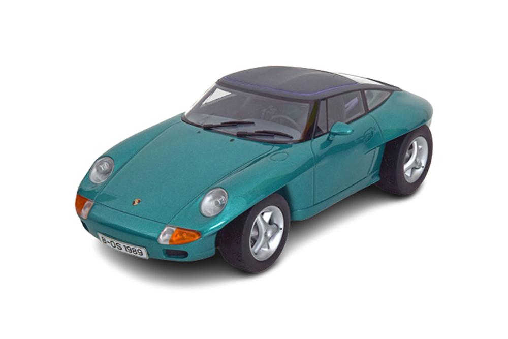 BOS bos100 1 18 Porsche Panamericana Concept Car Iaa Francfort 1989 vert métal