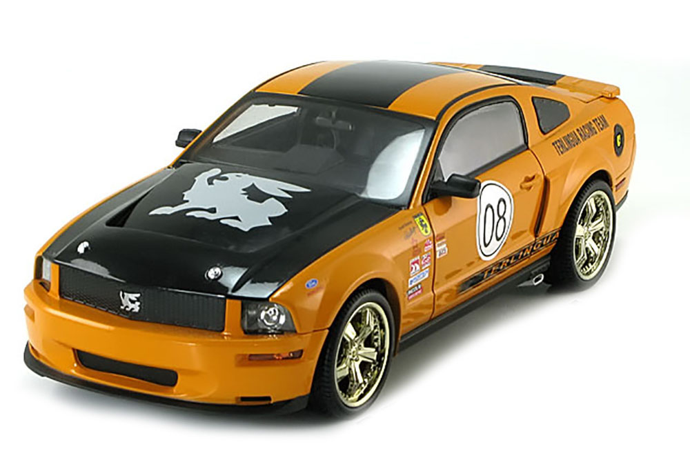 Shelby Collectibles dc08tr02 1 18 Ford Shelby Mustang Terlingua Racing Team 2008