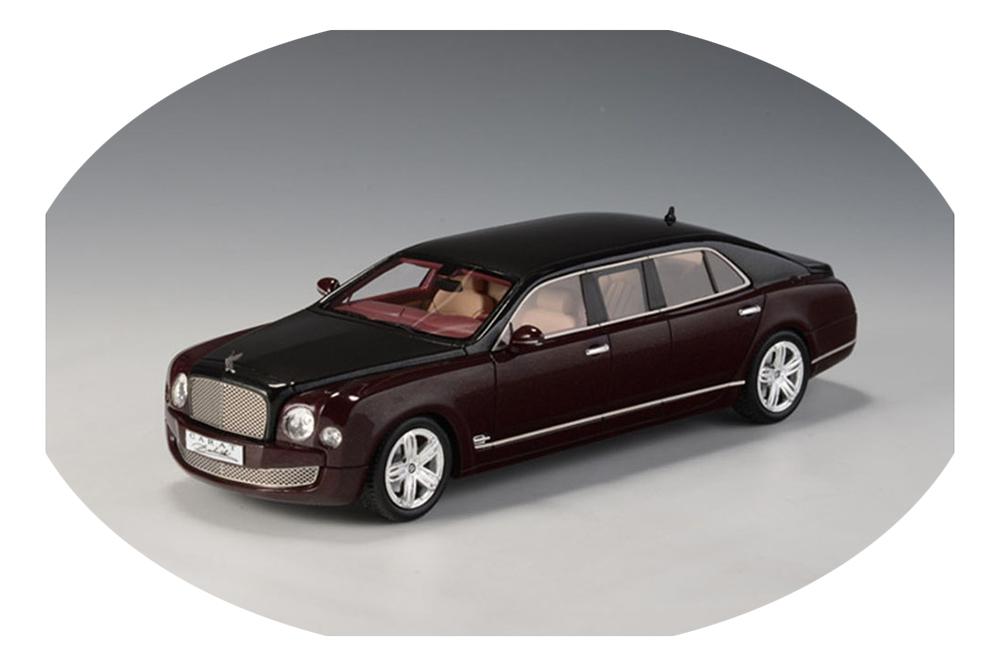 Bentley Mulsanne Armortech Limousine 2012 Bordeaux Black