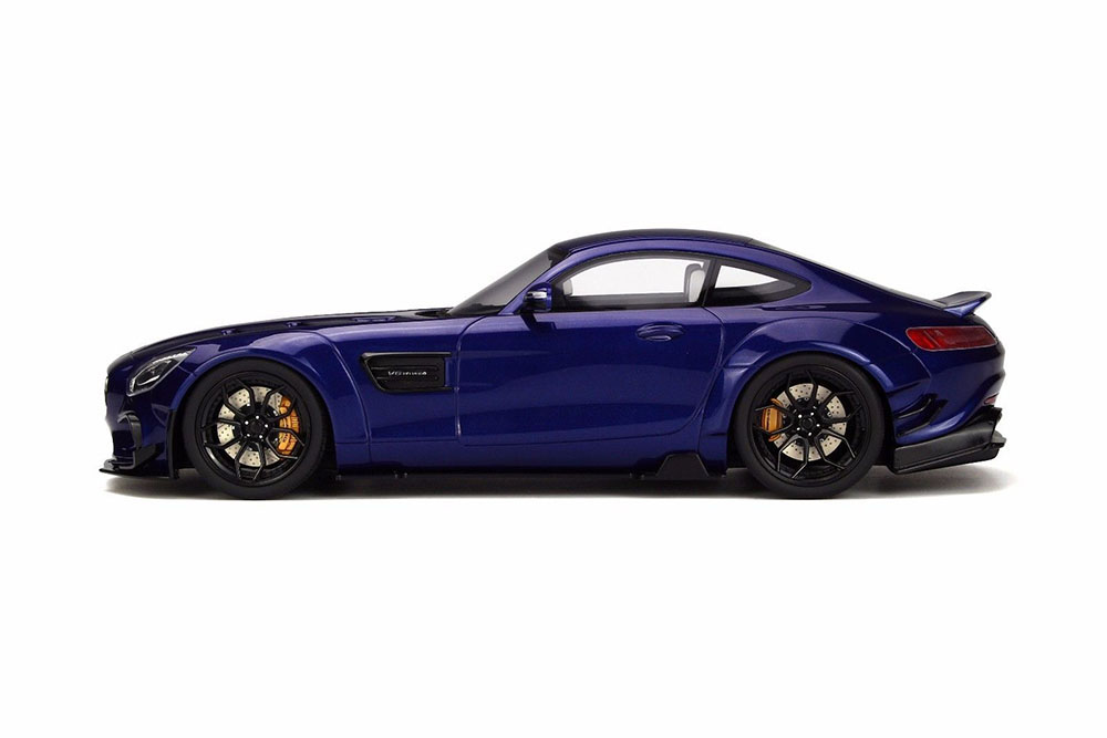 GT Spirit Spirit Spirit GT150 1 18 MERCEDES GT-CLASS AMG GT MODIFIED BY PRIOR DESIGN 2017 blueE c448f8