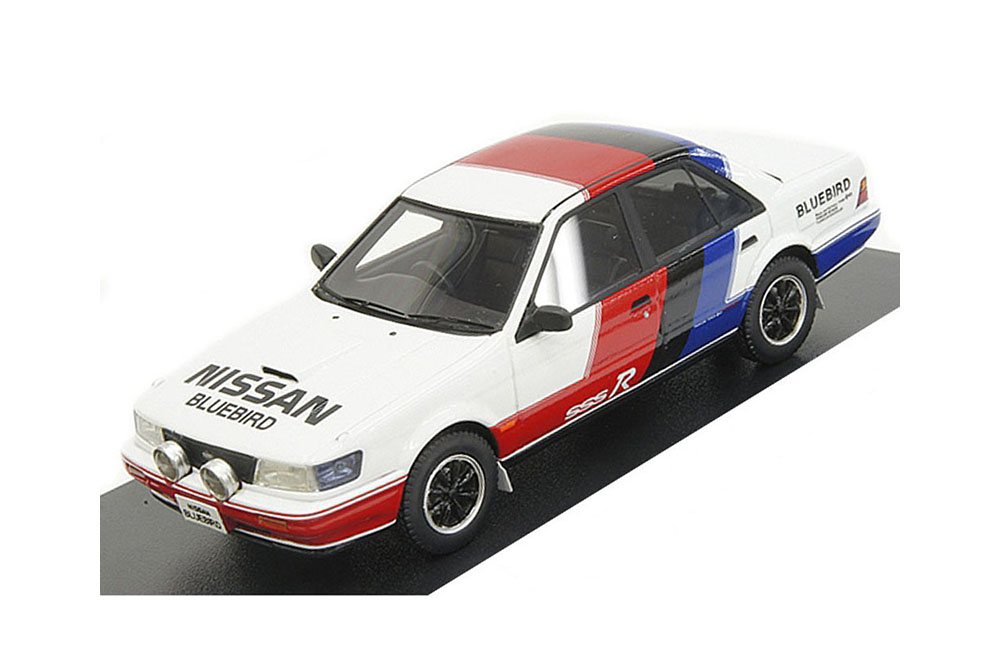 Hi-Story HS069SP1 1 43 Nissan blueebird SSS-R 1987 Tricolor