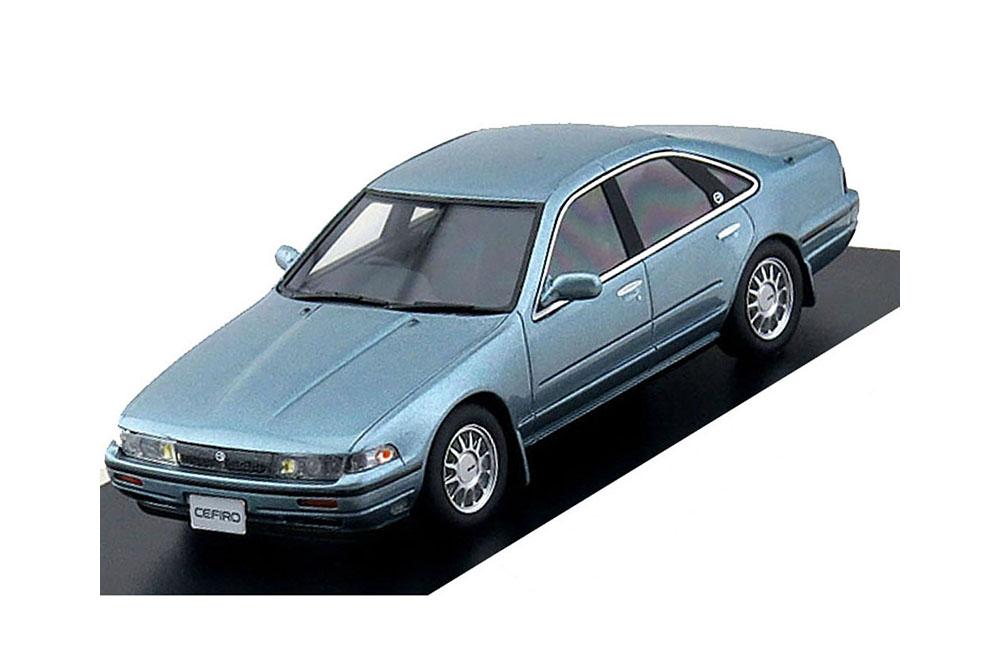 Hi-Story HS103BL 1 43 Nissan Cefiro 1988 bluee