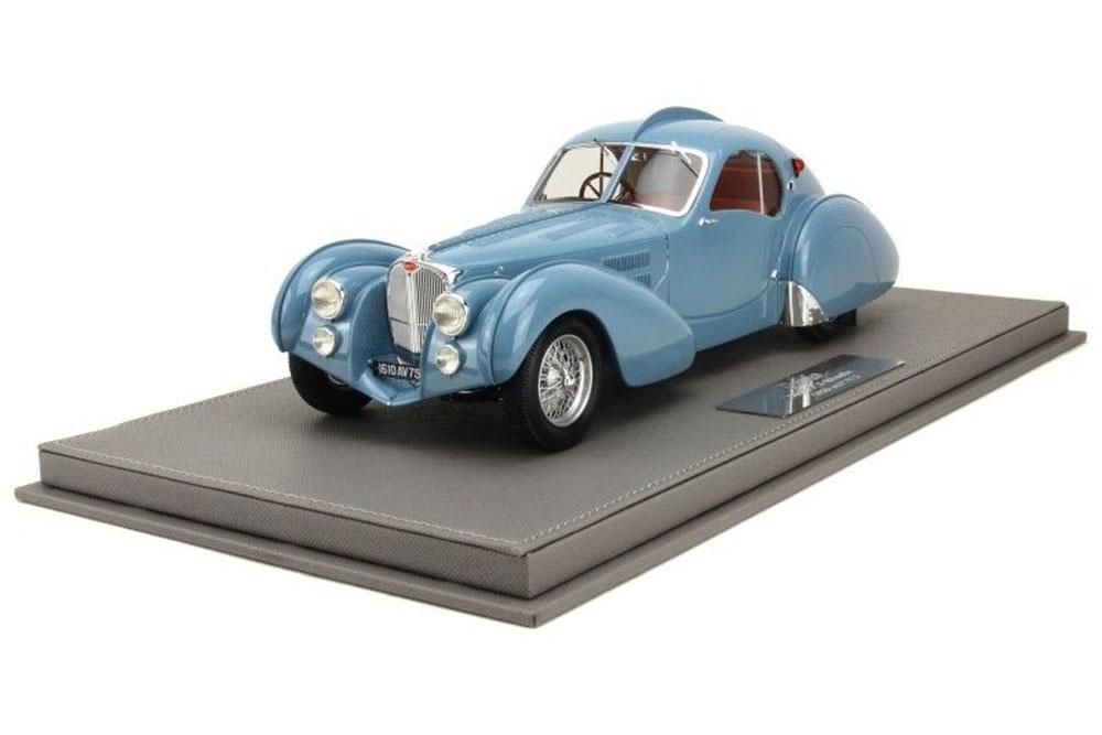 Ilario il1804sc 1 18 Bugatti t57s sn57473 ATLANTIC COUPE 1936 bleu gris