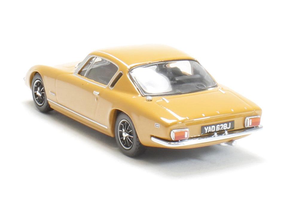 Oxford LE005 1//43 O Scale Lotus Elan Plus 2 Bahama Yellow Orange