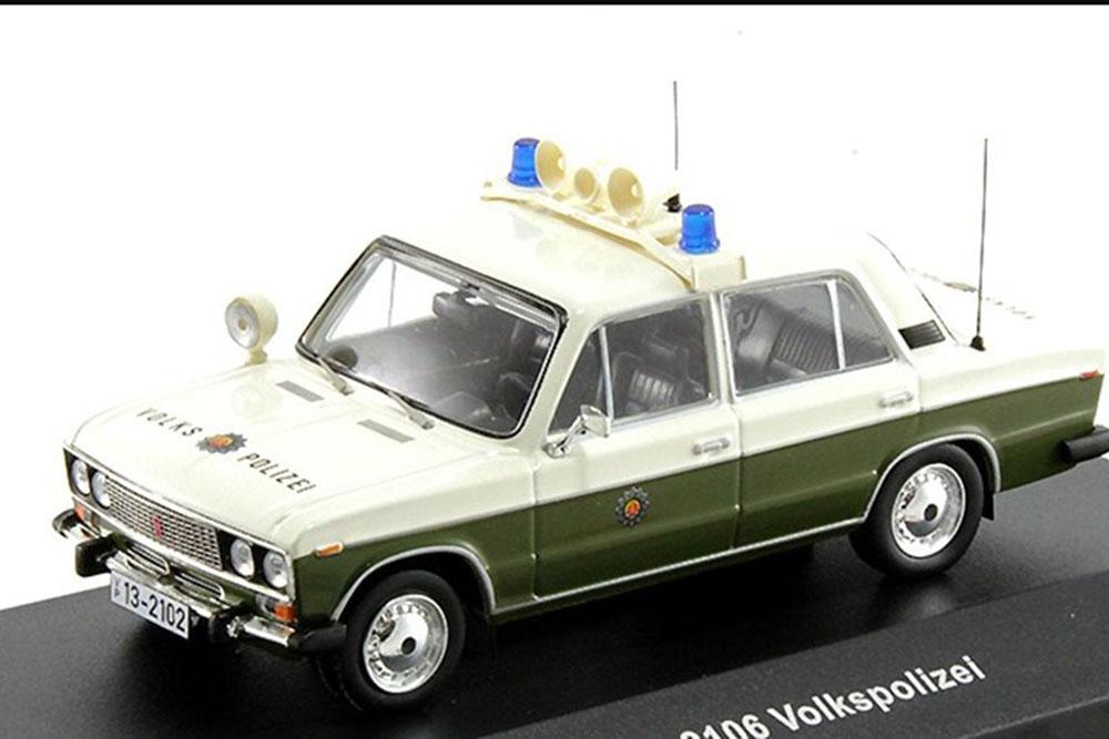 VAZ 2106 VOLKSPOLIZEI 1980 (ВАЗ 2106 ЖИГУЛИ) - MODELLISIMO