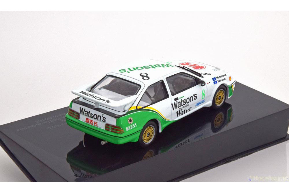 IXO MGPC003 1 43 FORD SIERRA RS500 T.HARVEY WINNER MACAU MACAU MACAU GUIA RACE 1989 607638