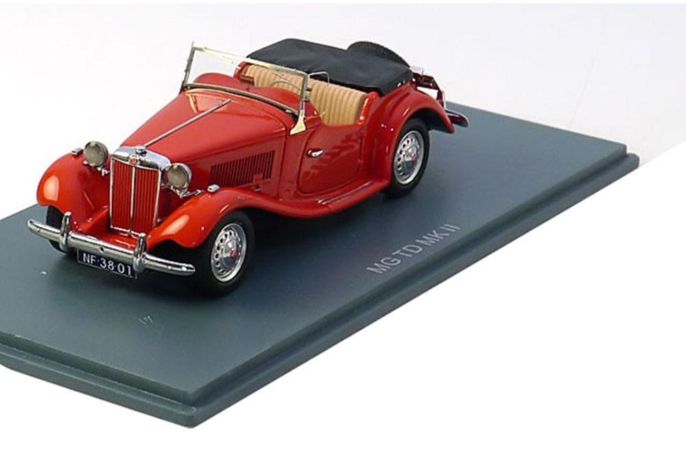 NEO neo43801 1 43 MG TD MARK II 1950 rouge