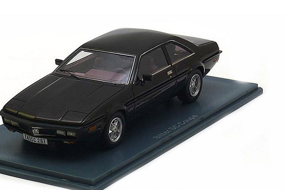 Neo neo44267 1 43 amargo SC coupé 1979 dark Marrón metalizado