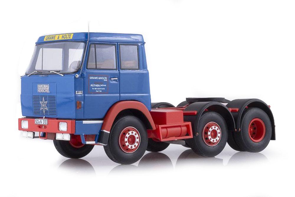 Neo neo45310 1 43 Hanomag Henschel f201 OyDBT & nolte 1967 azul rojo