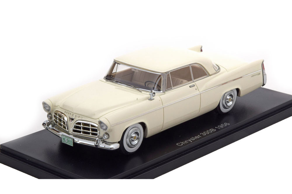 NEO neo45815 1 43 Chrysler 300b 1956 blanc