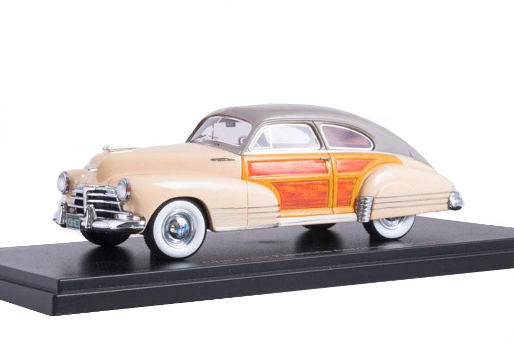NEO neo45833 1 43 Chevrolet Fleetline Aerosedan 1948 Beige Wooden