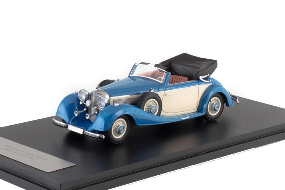 NEO neo46166 1 43 Mercedes 540k Type a Cabriolet 1936 Light bleu Beige