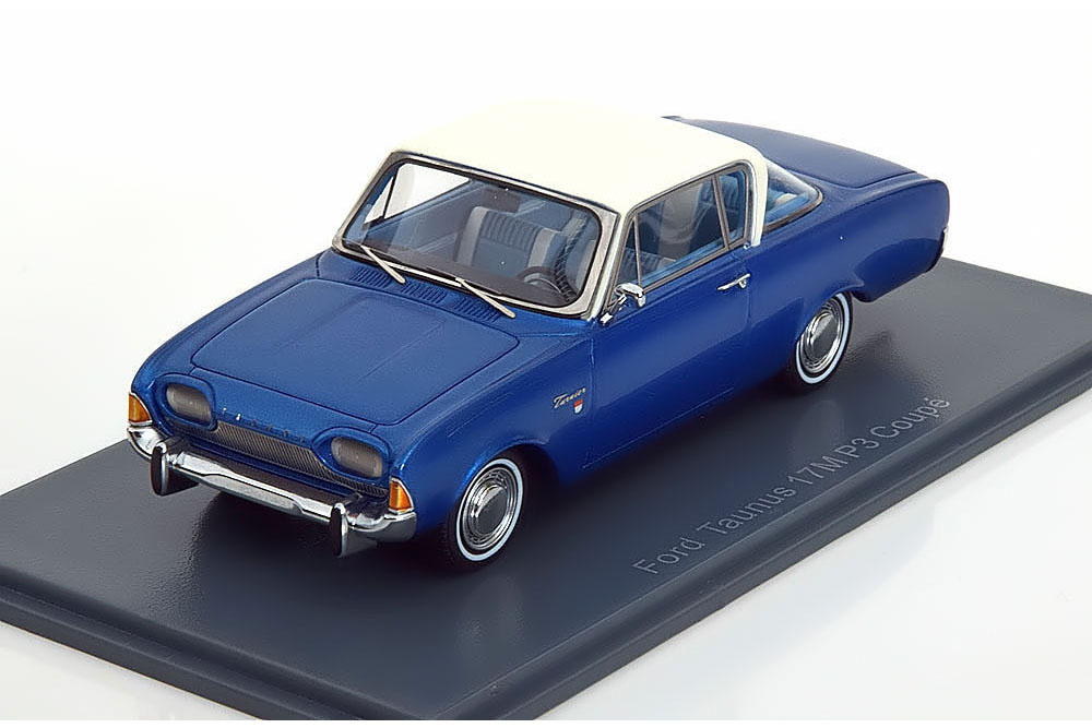 467e939afa972a Neo Neo46200 1 43 Ford Taunus 17M P3 Coupe 1962 Metallic Blue white 1 von  3Nur 1 verfügbar ...