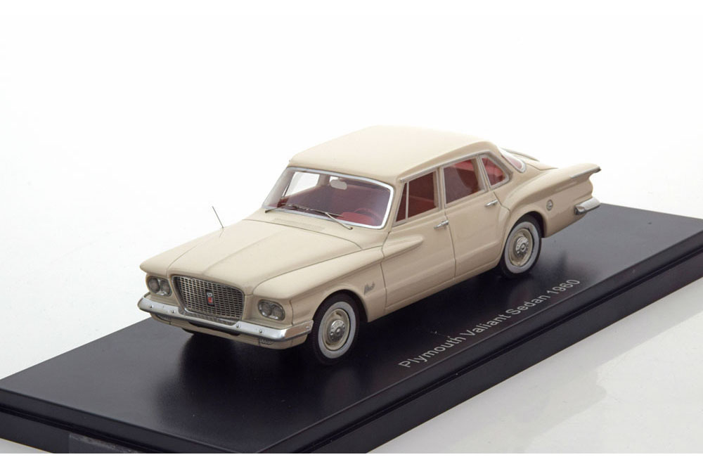 venta al por mayor barato Neo neo47015 1 43 Plymouth Valiant sedan 1960 light beige beige beige  costo real