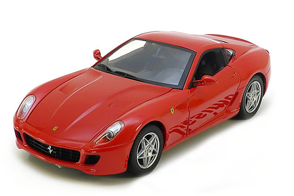 Hot Wheels p4398 1 18 ferrari 599 GTB 2006 Foundation series rosso