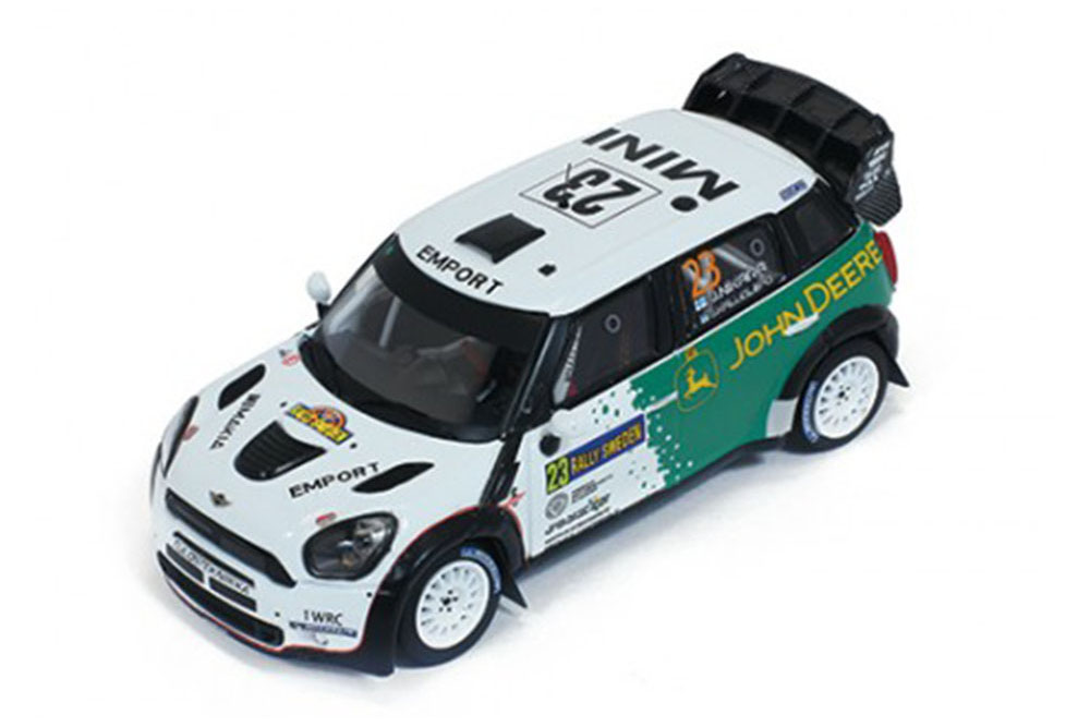 Ixo Ixo Ixo ram547 1 43 Mini John Cooper Works WRC  23 J. nikara-J. kalliolepo rally Swede 0fcabf