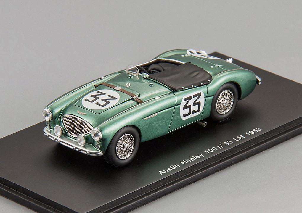 Austin Healey 100 33 14th Le Mans 1953 Scale