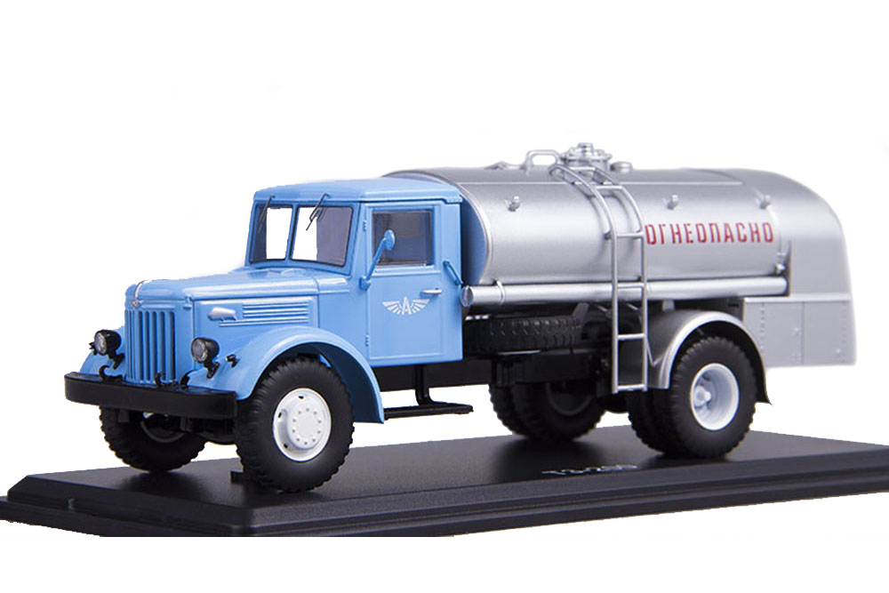 SSM ssm1084 1 43 maz-200 tz-200 on chassis AEROFLOT (USSR Russian Car)