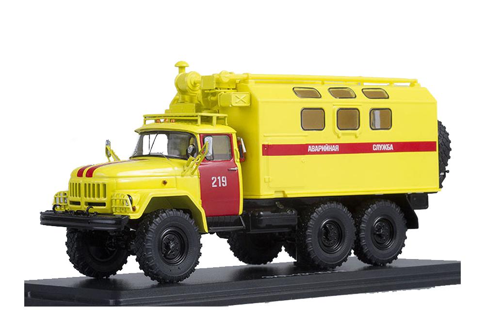 SSM ssm1101 1 43 ZIL 131 Kung Emergency Service (USSR Russian Car)