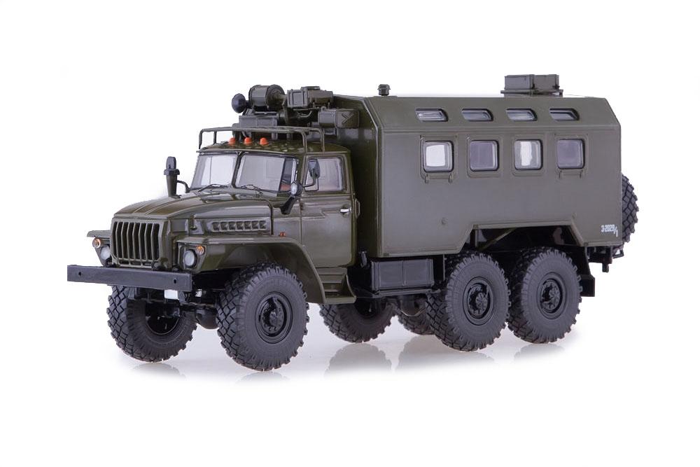 SSM ssm1222 1 43 Oural 4320 Miass camion Kung (USSR Russian Car)