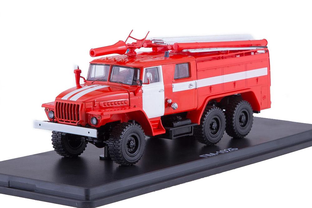 SSM ssm1232 1 43 Oural ats-40 43202 pm-102b (USSR Russian Car)