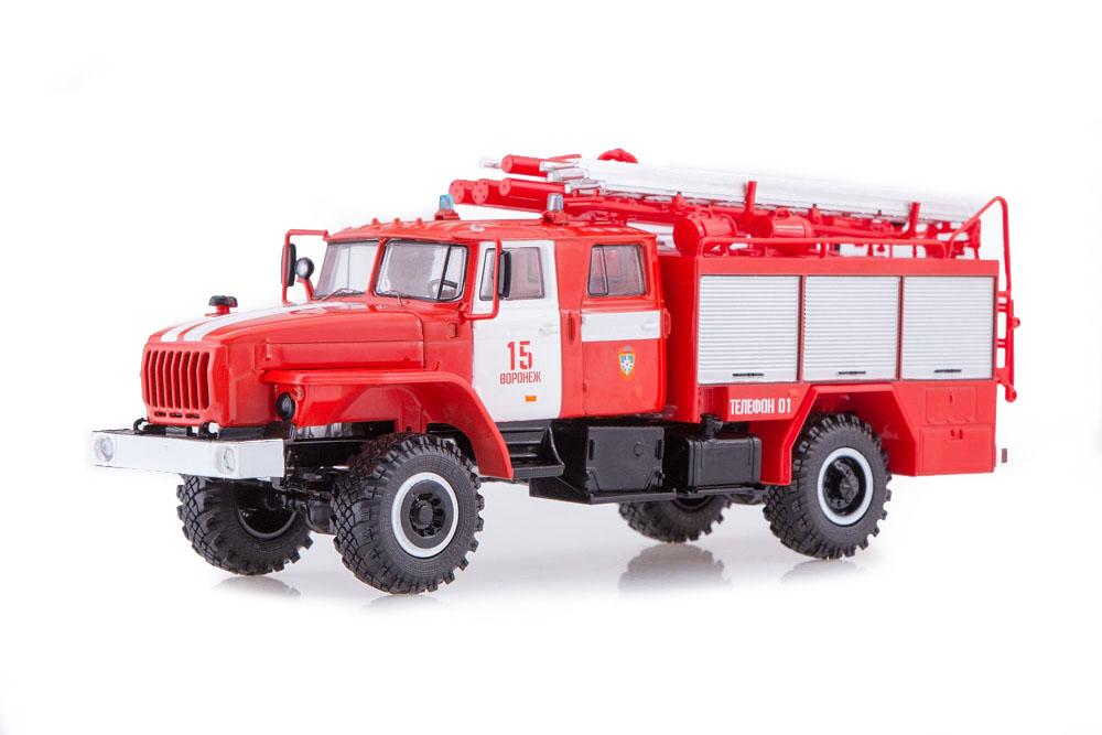 SSM ssm1236 1 43 Oural 43206 PSA 20-402 PCF No. 15 VorNEZH (USSR Russian Car)
