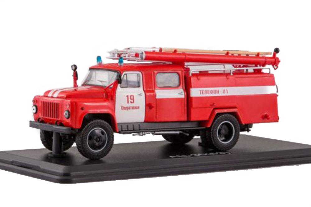 SSM ssm1267 1 43 GAZ ac-30 53-12-106v Operational PCH Â  –19 (USSR Russian Car)