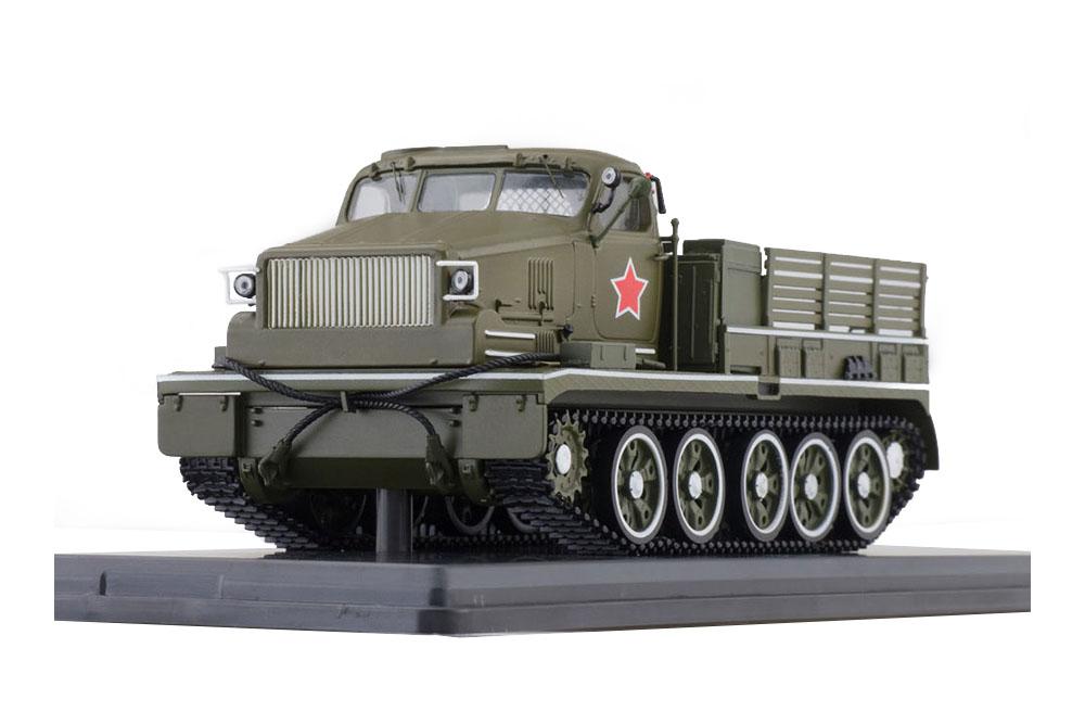 SSM SSM3018 1 43 TRACTOR AT-T HEAVY ARTILLERY PARADEL 1947 Grün (USSR RUSSIAN C