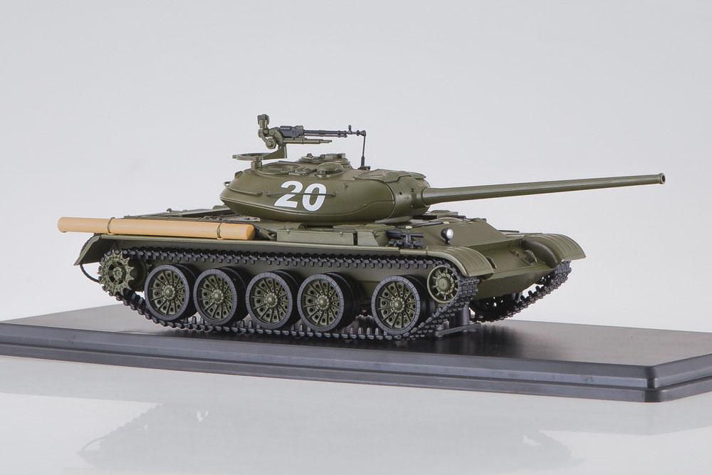 USSR RUSSIA TANKS SSM SSM3021 1:43 TANK T-54-1 1945-1974 DARK GREEN
