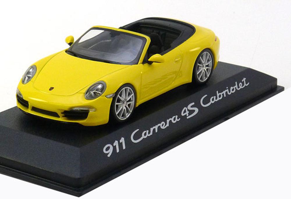 Dealer Porsche  WAP0201120C 1 43 Porsche 911 (991) voiturerera 4S Convertible 2012 Ye  offrant 100%