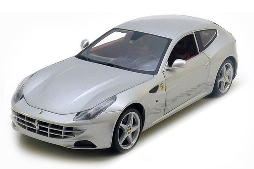 hot wheels x5525 1 18 ferrari ff 2011 silver ebay. Black Bedroom Furniture Sets. Home Design Ideas