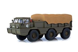 ZIL 132P ARMY ATV-AMPHIBIAN (USSR RUSSIAN CAR) | ЗИЛ-132П АРМЕЙСКИЙ ВЕЗДЕХОД-АМФИБИЯ *ЗИЛ ЗАВОД ИМЕНИ ЛИХАЧЕВА