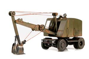LEZ E-255 EXCAVATOR (USSR RUSSIAN) 1950-1955 (WITH FOLLOWING OPERATIONS) | ЭКСКАВАТОР-255 (СО СЛЕДАМИ ЭКСПЛУАТАЦИИ) *ЛЕЗ ЛЕНИНГРАДСКИЙ ЭКСКАВАТОРНЫЙ ЗАВОД