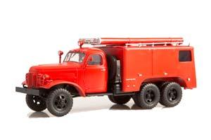 ZIS 151 PMZ-16 FIRE FIGHTING CAR OF CHEMICAL FOAM EXTINGUISHING (USSR RUSSIAN) 1956-1959| ЗИС-151 ПОЖАРНЫЙ АВТОМОБИЛЬ ХИМИЧЕСКОГО ПЕННОГО ТУШЕНИЯ ПМЗ-16 *ЗИС