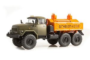 ZIL 131 MA-4A OILER (USSR RUSSIA CAR) GREEN/ORANGE | ЗИЛ-131 МА-4А МАСЛОЗАПРАВЩИК МА-4А *ЗИЛ ЗАВОД ИМЕНИ ЛИХАЧЕВА