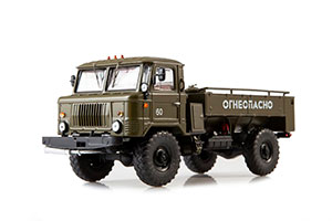 GAZ 66 T3-2 FUEL TANK (USSR RUSSIAN TRUCK) GREEN | ГАЗ 66 ТЗ-2-66 *ГАЗ ГОРЬКОВСКИЙ АВТОЗАВОД ГОРЬКИЙ