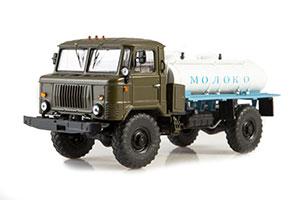 GAZ 66 AVC-1,7 MILK TANK (USSR RUSSIAN) | ГАЗ-66 АВТОМОБИЛЬ-ЦИСТЕРНА АВЦ-1,7 *ГАЗ ГОРЬКОВСКИЙ АВТОЗАВОД ГОРЬКИЙ