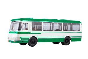 KAVZ-3100 SYBERIA (USSR RUSSIA) WHITE/GREEN | АВТОБУС КАВЗ-3100