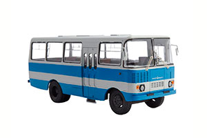 CHAZ TAJIKISTAN-5 (USSR RUSSIA) 1976 BLUE/WHITE | ЧАЗ АВТОБУС ТАДЖИКИСТАН-5 *ЧАЗ