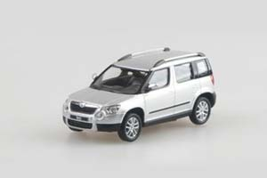 Skoda Yeti 2009 Silver Brilliant Metallic (Crossover 4x4)