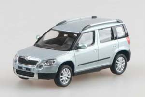 Skoda Yeti 2009 Light Blue Metallic (Crossover 4x4)