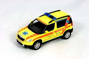 Skoda Yeti Rescue Service of the Pilsen Region 2009