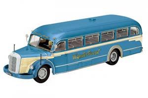 Mercedes O6600 Wanderfreund 1955 Blue/Creme