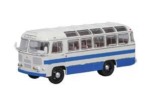 Pavlovsk Bus PAZ-672 1980 White/Blue Stripes