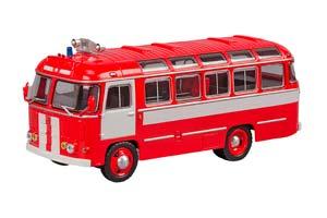 Pavlovsk Bus PAZ 672 Fire Engine 1980 Red