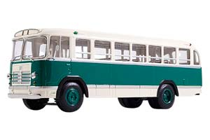 ZIL 158B (USSR RUSSIA BUS) 1961 GREEN/WHITE | ЗИЛ-158В