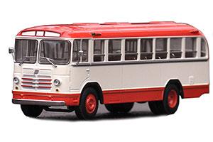 ZIL 158B (USSR RUSSIA BUS) 1961 WHITE/RED | ЗИЛ-158В *ЗИЛ ЗАВОД ИМЕНИ ЛИХАЧЕВА
