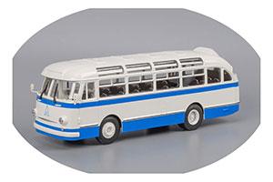 ЛАЗ 695Е 1963 White/Blue (Бело-Голубой)