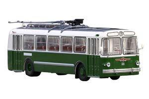 ZIU-5 TROLLEY (USSR RUSSIA) 1960 GREEN/WHITE | ЗИУ-5 ГОРОДСКОЙ